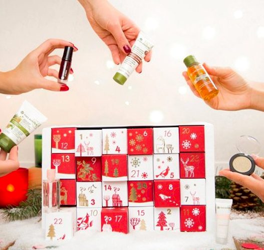 Image result for yves rocher calendrier de l'avent 2018